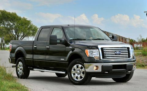 An AW Flash Drive: 2011 Ford F-150