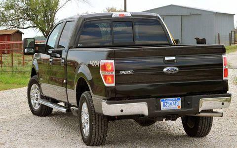 An AW Flash Drive: 2011 Ford F-150