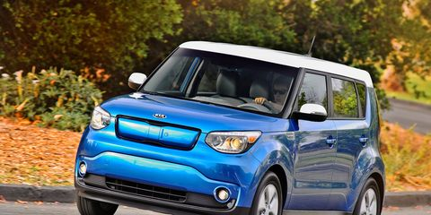 """Kia could've called this vehicle the """"Electric Soul."""" Instead, it gave it the equally factual moniker """"Soul EV."""""""