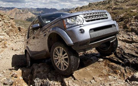 An AW photo gallery: Off-roading in the Rockies in Land Rovers