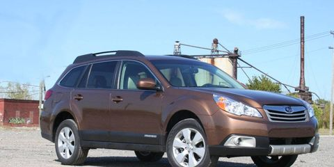 Driver's Log Gallery: 2011 Subaru Outback 2.5i Limited