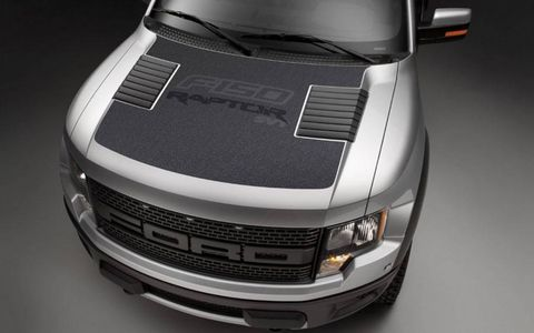 New graphics packages adorn the Ford F-150 Raptor