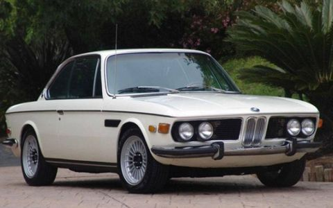 Front view of the BMW 2800CS for sale on Bring a Trailer.