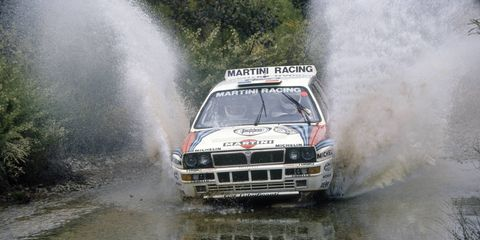 Production versions of this 1992 Lancia Delta HF Integrale rally car remain tantalizingly out of reach to American enthusiasts -- along with everything else built in the 1990s.