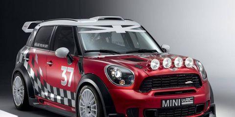 The Mini WRC
