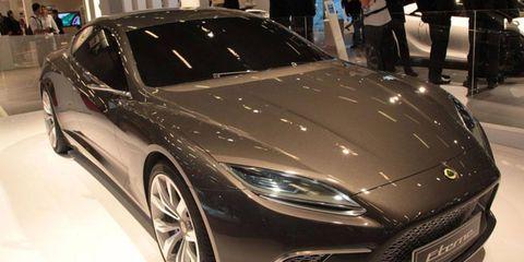 Paris Auto Show: Lotus Eterne