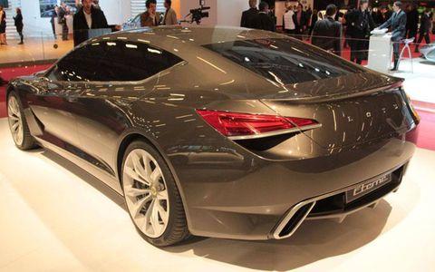 Paris Motor Show: Lotus Eterne