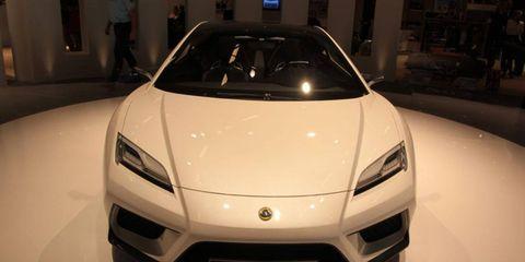 Paris Auto Show: Lotus Esprit