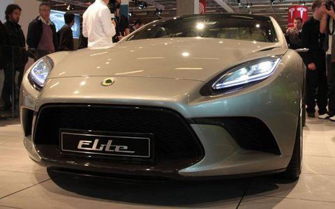 Paris Auto Show: Lotus Elite