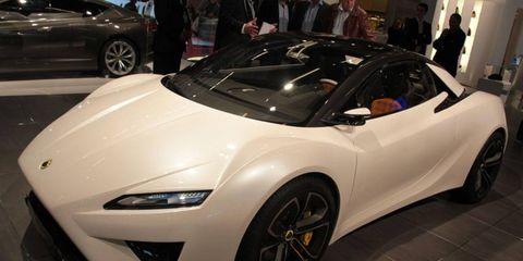 Paris Auto Show: Lotus Elise