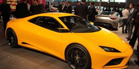 Paris Auto Show: Lotus Elan