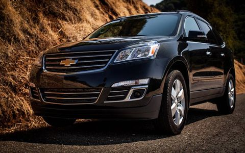 The Traverse's new face is refined and dignified. When was the last time you said that about a Chevy?