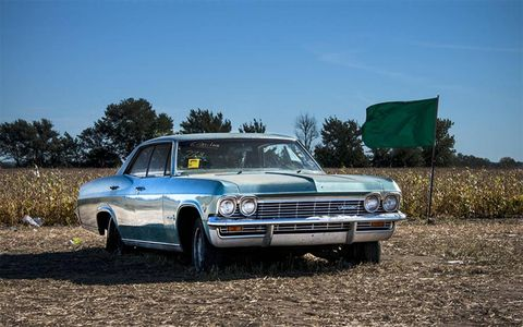 Hundreds of project and parts cars were sold on the second day of the Lambrecht Chevrolet auction.