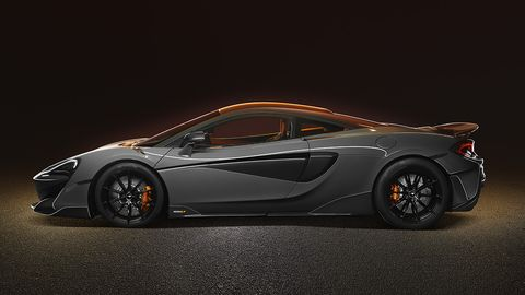 The 600LT will be powered by a twin-turbocharged 3.8-liter V8 engine churning out 592 hp and 457 lb-ft of torque.
