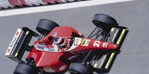 At least one report says the 2016 Ferrari F1 could feature white, just like the 1993 livery (shown above).