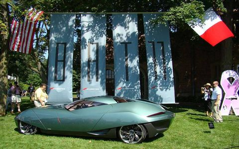 The B.A.T. 11 is an eye-catching concept by Stile Bertone.