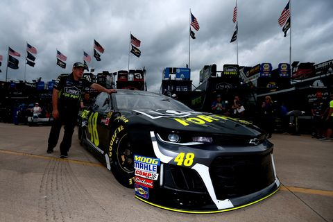 Sights from the NASCAR action at Texas Motor Speedway, Friday Apr. 6, 2018.