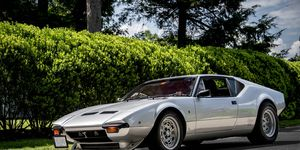 The De Tomaso Pantera is the company's best remembered model in the U.S.