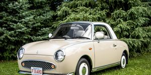 Nissan's Figaro, loosely based on the old Micra, did retro right before retro was even a thing.