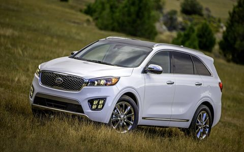The Sorento has been redesigned inside and out, with a new version of the corporate grille.