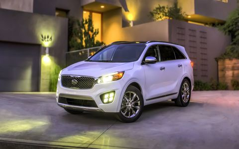 The 2016 Kia Sorento is slated to go on sale during the first quarter of 2015.