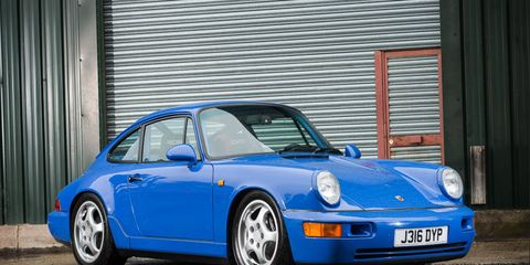 This 1991 Porsche 964 RS will be offered a Silverstone at the end of the month.