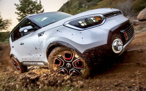 The Kia Trail'ster concept was revealed at the Chicago Auto Show on Thursday.