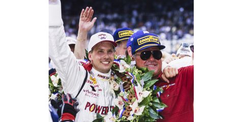 Kenny Brack became the first Swedish-born driver to win the Indy 500 in 1999.