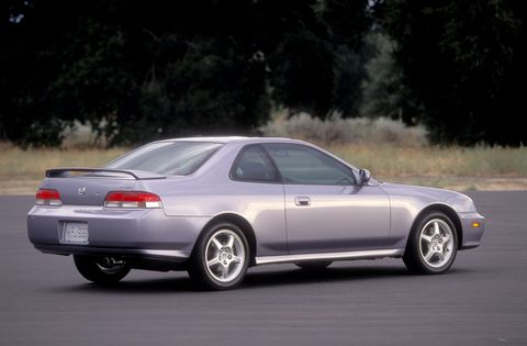 Remember the Honda Prelude? For a front-wheel drive car it was a surprising amount of fun behind the wheel.