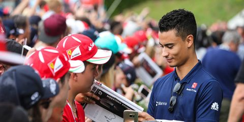 Pascal Wehrlein has a pair of top-10 finishes for Sauber in 2017.