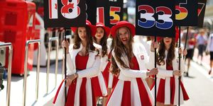 Despite being banned by Liberty Media, grid girls may be seen in F1 in Monaco and Russia.