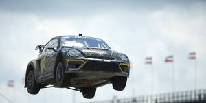 Tanner Foust will be competing in a new form of rallycross in 2018.