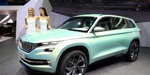 The Skoda Vision S concept previews a large, seven-seat Kodiaq SUV seen as fit for the U.S.