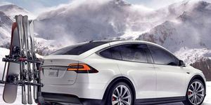 The Model X is rad enough to shred some serious slopes. Are you?