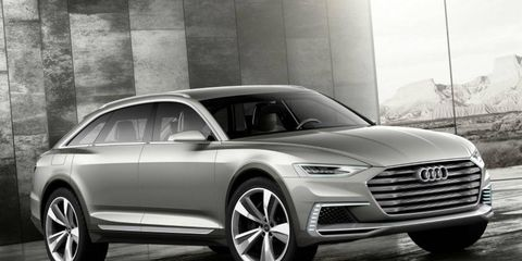 The A8 will borrow design cues from the Prologue concept first seen at the 2014 Los Angeles auto show.