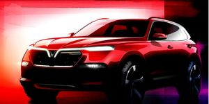 The first VinFast SUV will be about the size of a BMW X5.