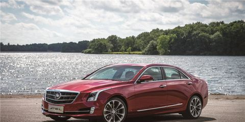 The sole photo we've seen of the ATS-L shows an extended wheelbase sedan with pleasing proportions.