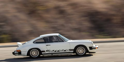 This 1974 Porsche 911 Carrera 2.7 MFI Coupe did not sell at the RM Sotheby's auction.