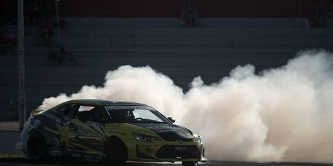 Last year's champ Fredric Aasbo got back in form in Montreal to win round five of Formula Drift.
