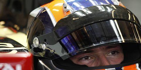 Alex Lynn won the GP3 championship for Carlin Motorsport last season.