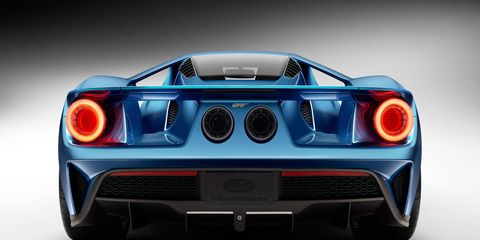 The Ford GT will be transported by trailer back and forth to the dealer in order for service to be performed on it.