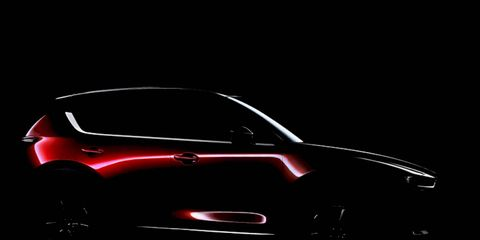 Mazda has released a teaser image previewing the next-gen CX-5.