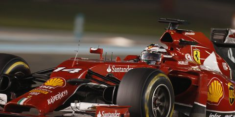 Former Ferrari driver Fernando Alonso is wasting little time distancing himself from his former team.