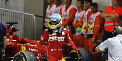 Fernando Alonso is currently in talks with Ferrari about his future with the team.
