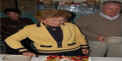 Ann Bothwell at her 90th-birthday party seven years ago