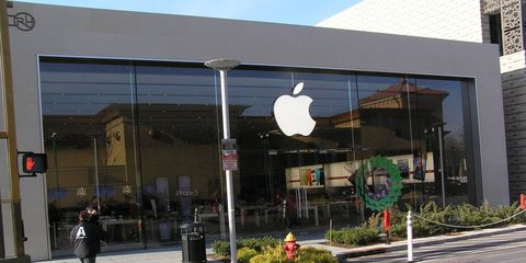 Don't worry, this Apple store in Yonkers, New York, won't become a new car dealership.