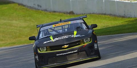 Lawson Aschenbach drove a Chevy Camero to a pair of Pirelli World Challenge wins at Mid-Ohio this weekend.