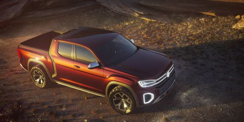 VW could build the production version of its Atlas Tanoak in Chattanooga.