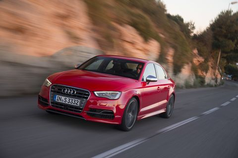 The 2015 Audi S3 comes in at a base price of $41,995 with our tester topping off at $48,045.