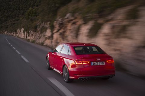 The 2015 Audi S3 is terrific to look at, and the 2.0-liter turbo four under the hood has more than enough power.